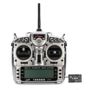 FPV-Racing Drones Fernsteuerung FrSky Taranis X9D mit Empfänger
